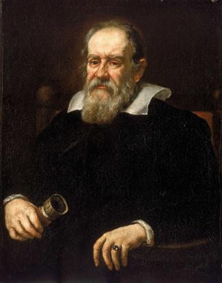 Painting of Galileo Galilei.