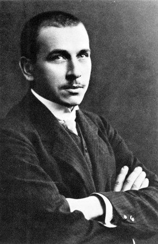 Photograph of Alfred Wegener.