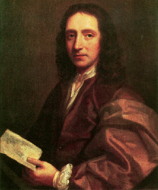 Painting of Sir Edmund Halley.