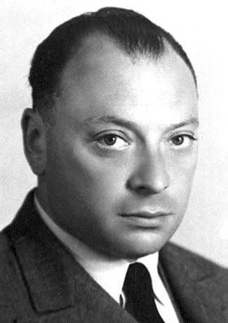 Photograph of Wolfgang Pauli.