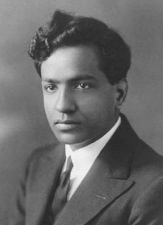 Photograph of Subrahmanyan Chandrasekhar.