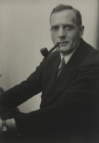 Photograph of Edwin Hubble.