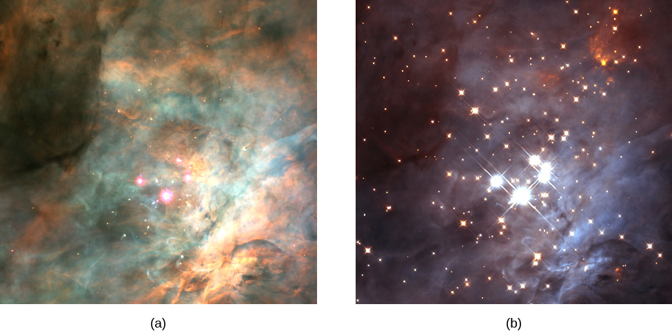 Infrared Visible Light Comparison View Of The Helix Nebula: Douglas College Astronomy 1105