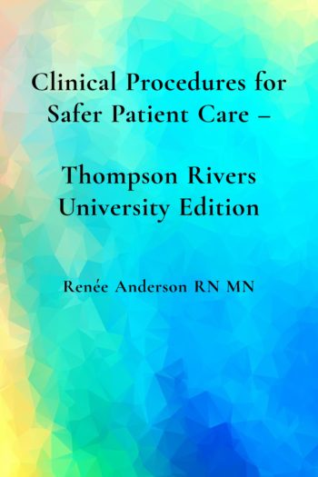 Cover image for Clinical Procedures for Safer Patient Care