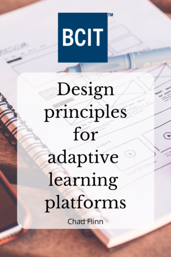 Cover image for Design principles for adaptive learning platforms
