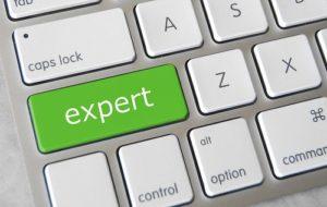 Expert on keyboard