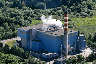 Waste to Energy Facility Covanta in Metro Vancouver