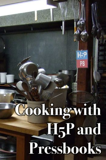 Cover image for Cooking in the H5P Kitchen