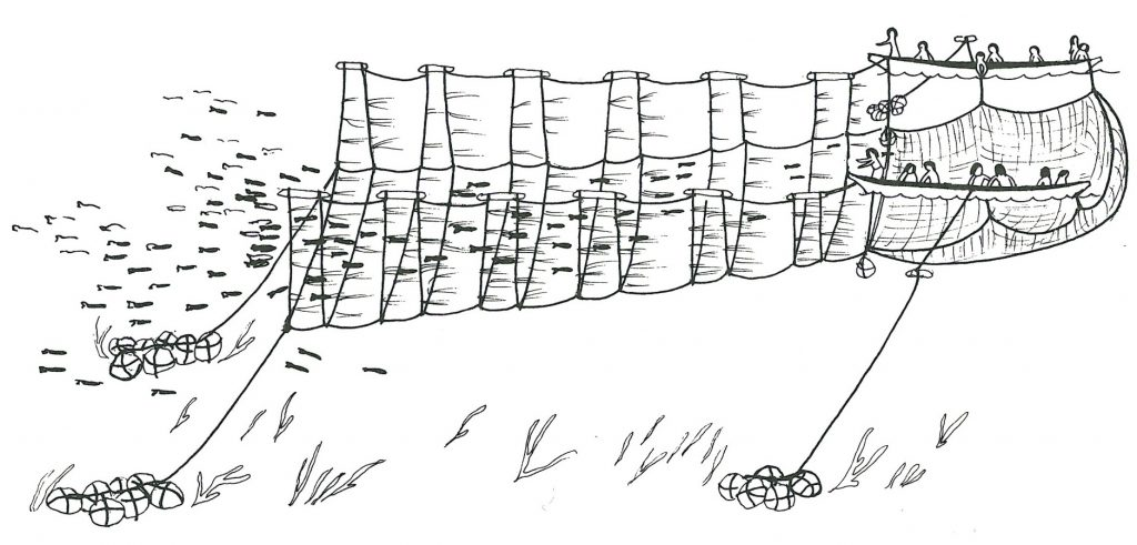 Reef net of the WSÁNEĆ (Saanich) Saltwater people