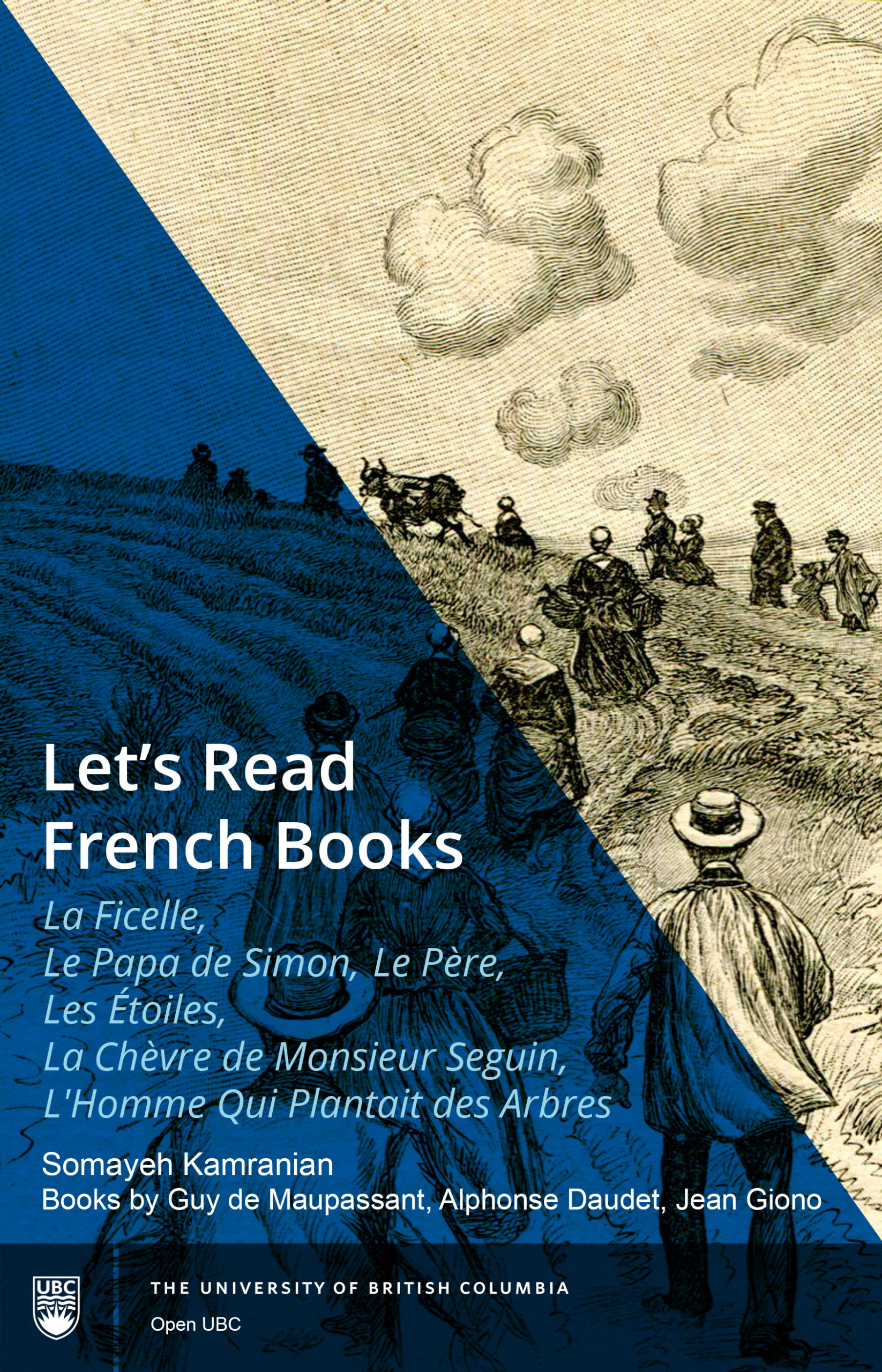 Cover image for Let's Read French Books