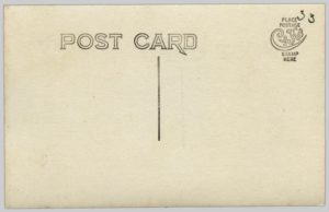 The reverse side of the postcard in Figure 10.1.