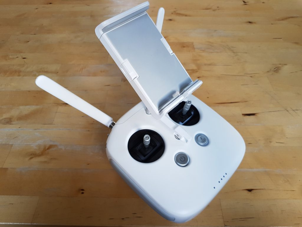 White controller for the DJI Phantom 3 Professional drone
