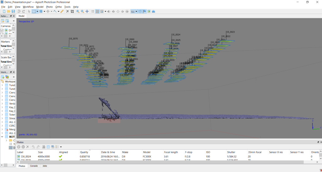 Chapter 2 1 – Dense Point Cloud – Processing UAS