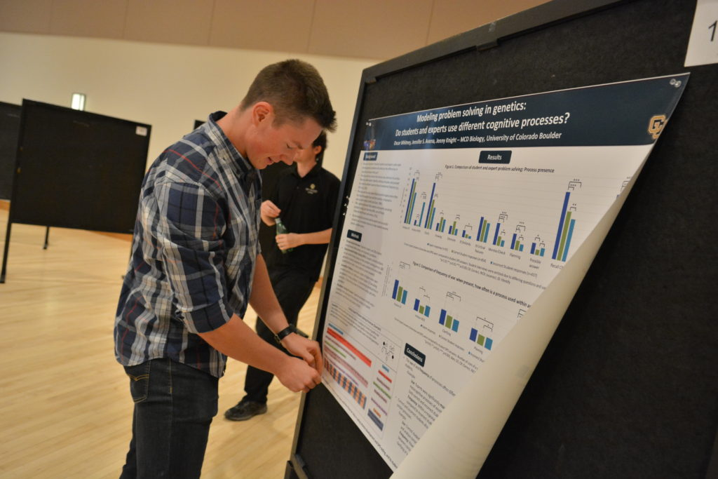 Poster session at CU Boulder