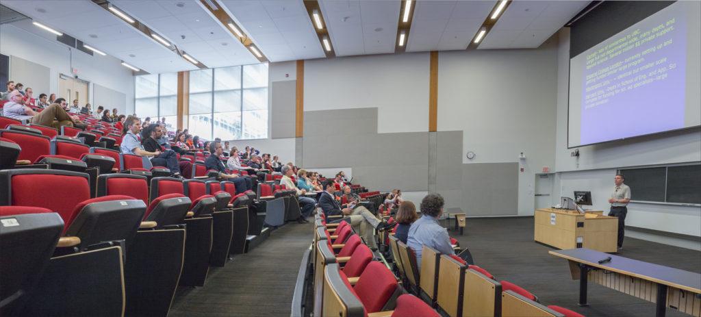 Carl Wieman speaks at UBC's Science Education Open House