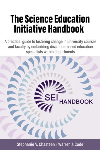 Cover image for The Science Education Initiative Handbook