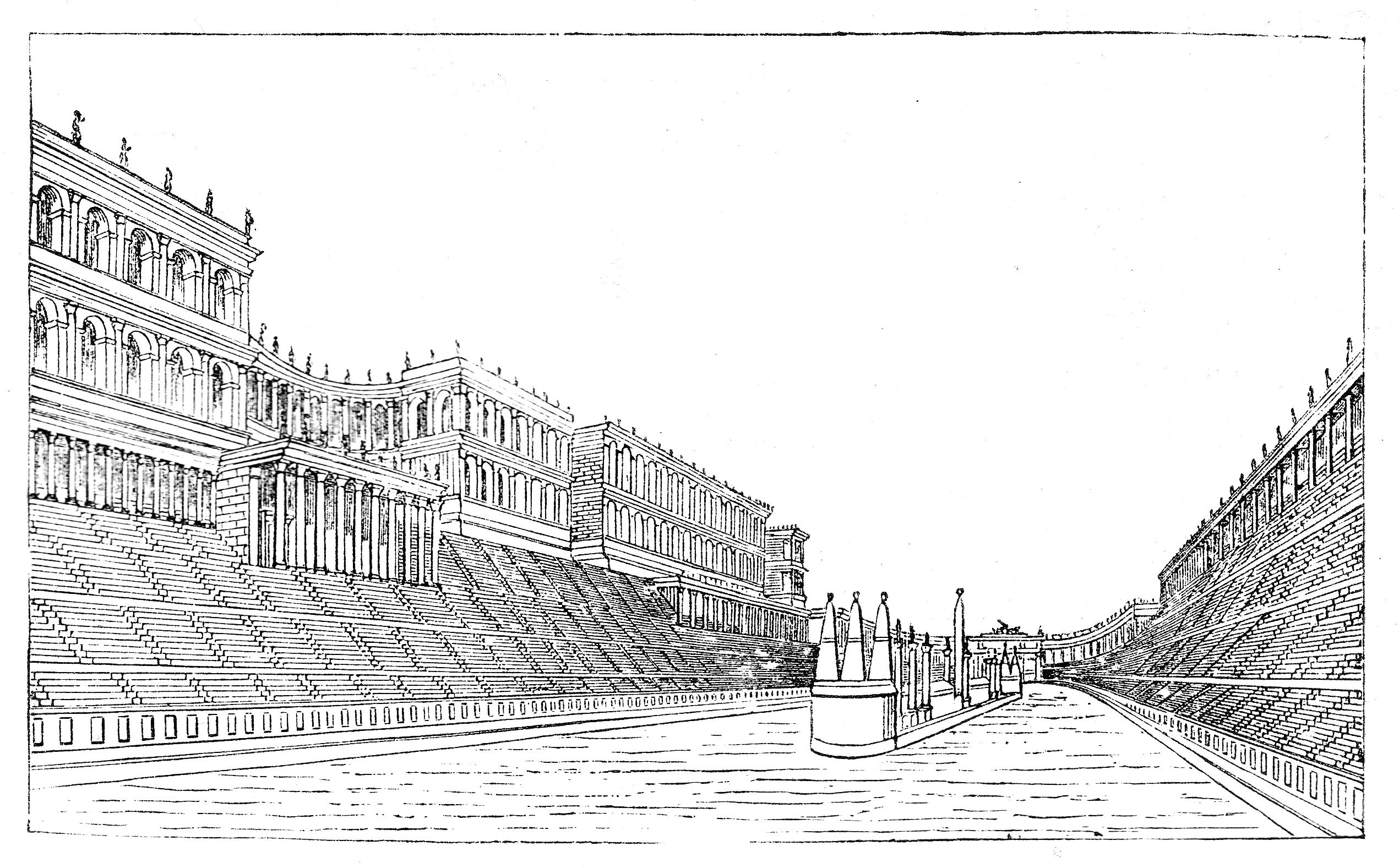 Illustration of the Circus Maximus