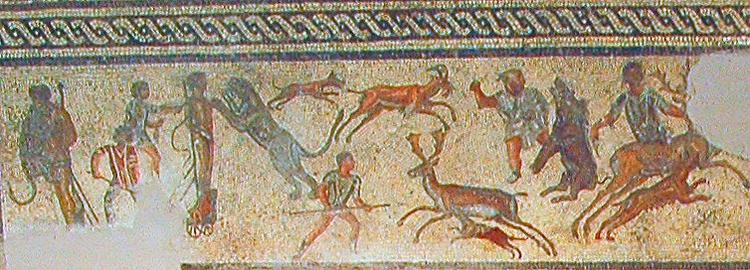 A picture of a mosaic