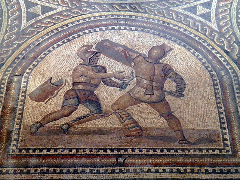gladiator thracian murmillo