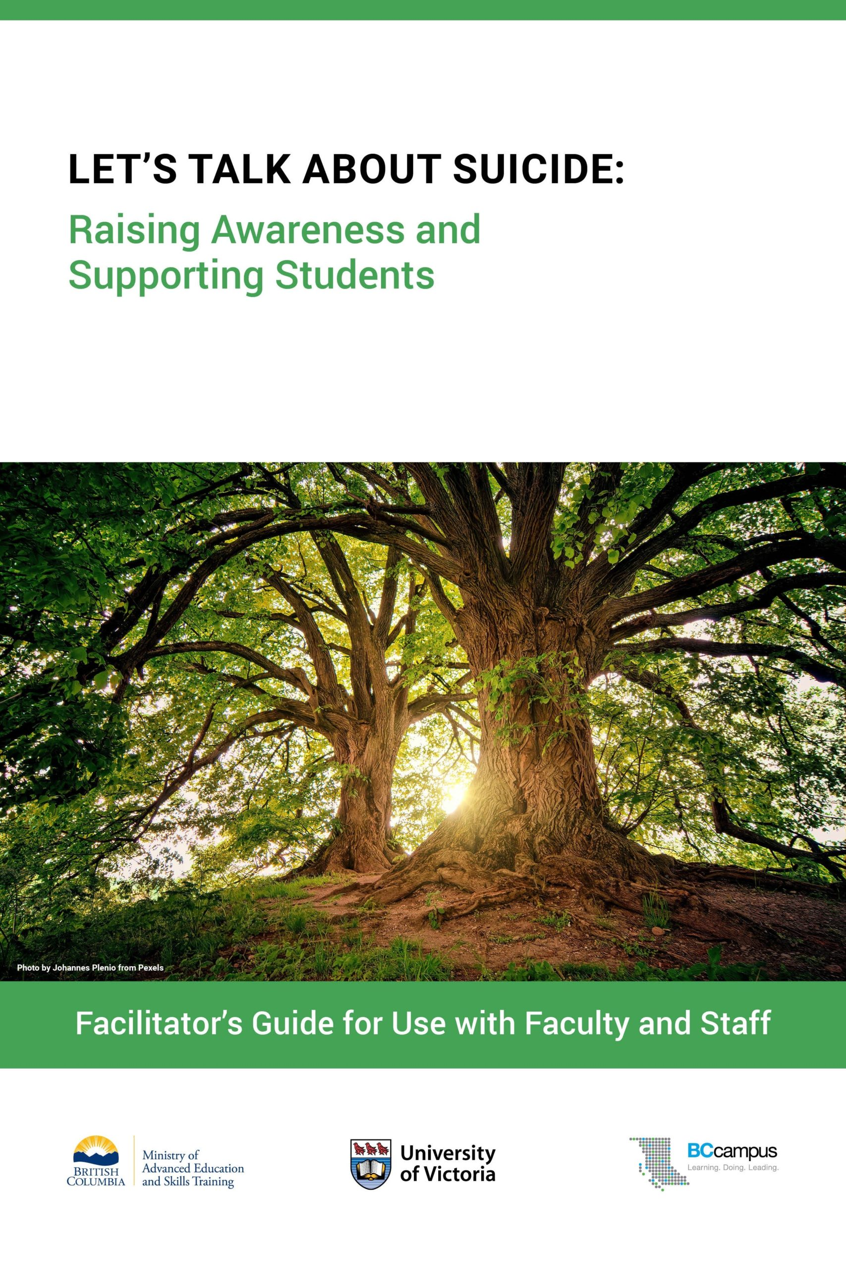 Cover image for Let's Talk About Suicide: Raising Awareness and Supporting Students
