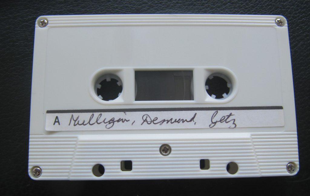 Figure 6.5.1 Audio cassettes are a recorded, asynchronous technology