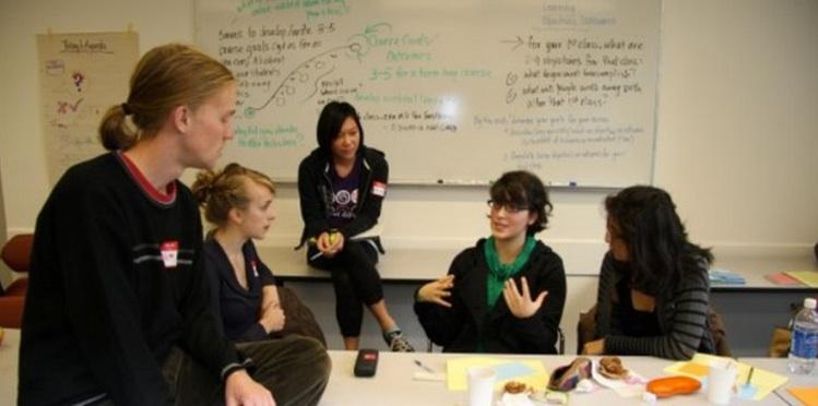 Figure 8. A student directed seminar at UBC Image: © University of British Columbia, 2014