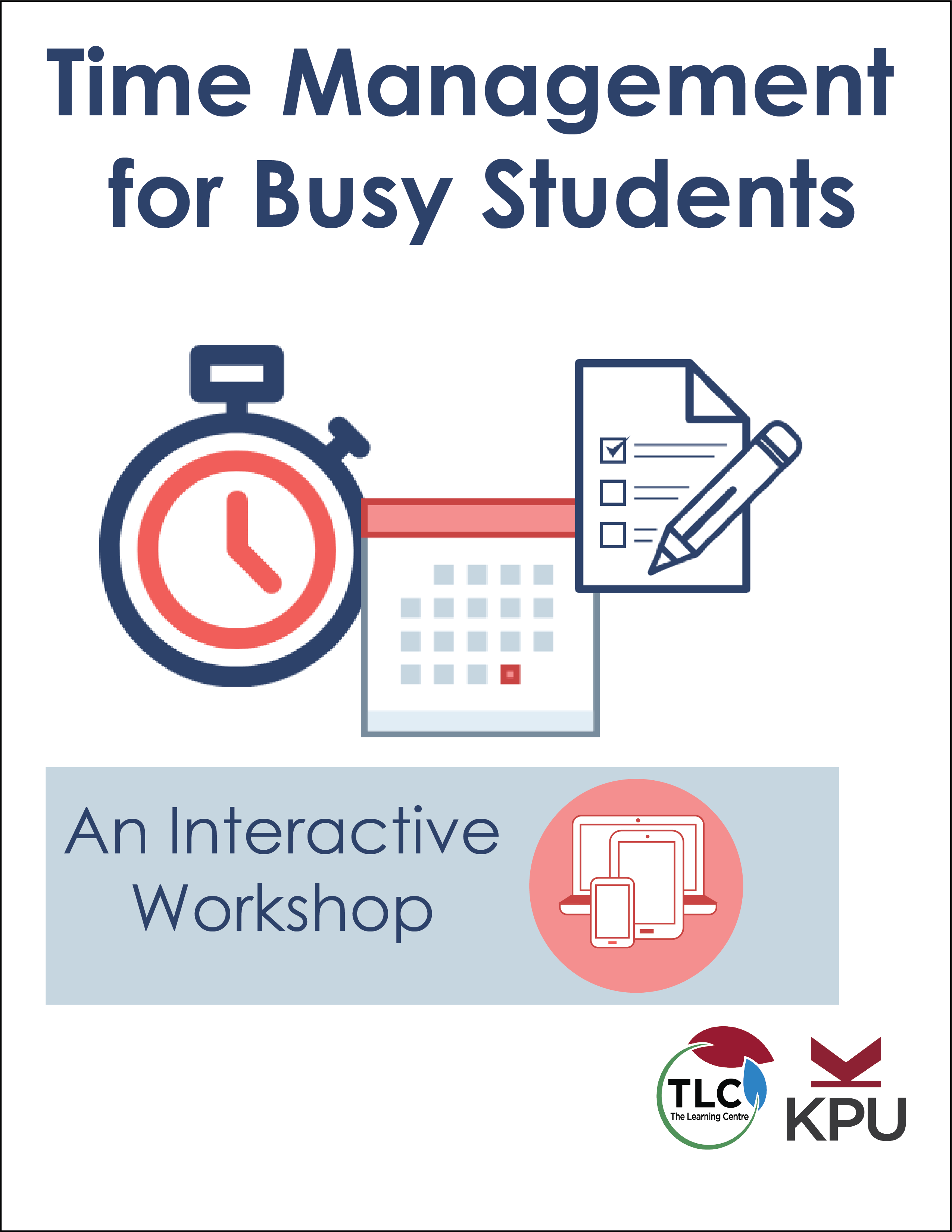 Cover image for Time Management for Busy Students