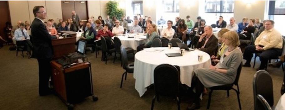 Figure 12.1 A faculty development workshop