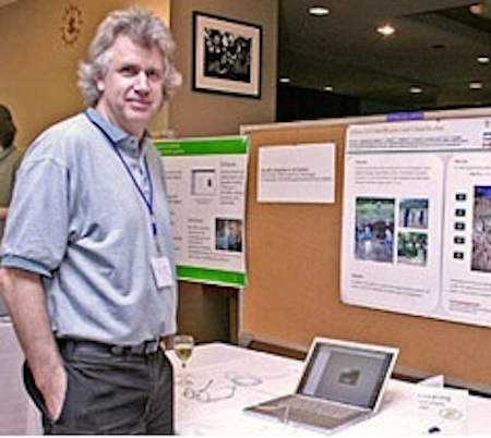 Figure 9.7.2 Chris Crowley is an Instructional Designer/Project Manager for UBC's Centre for Teaching, Learning and Technology. He is involved in the design, development and delivery of online courses and learning resources in a number of subject areas including Soil Science.