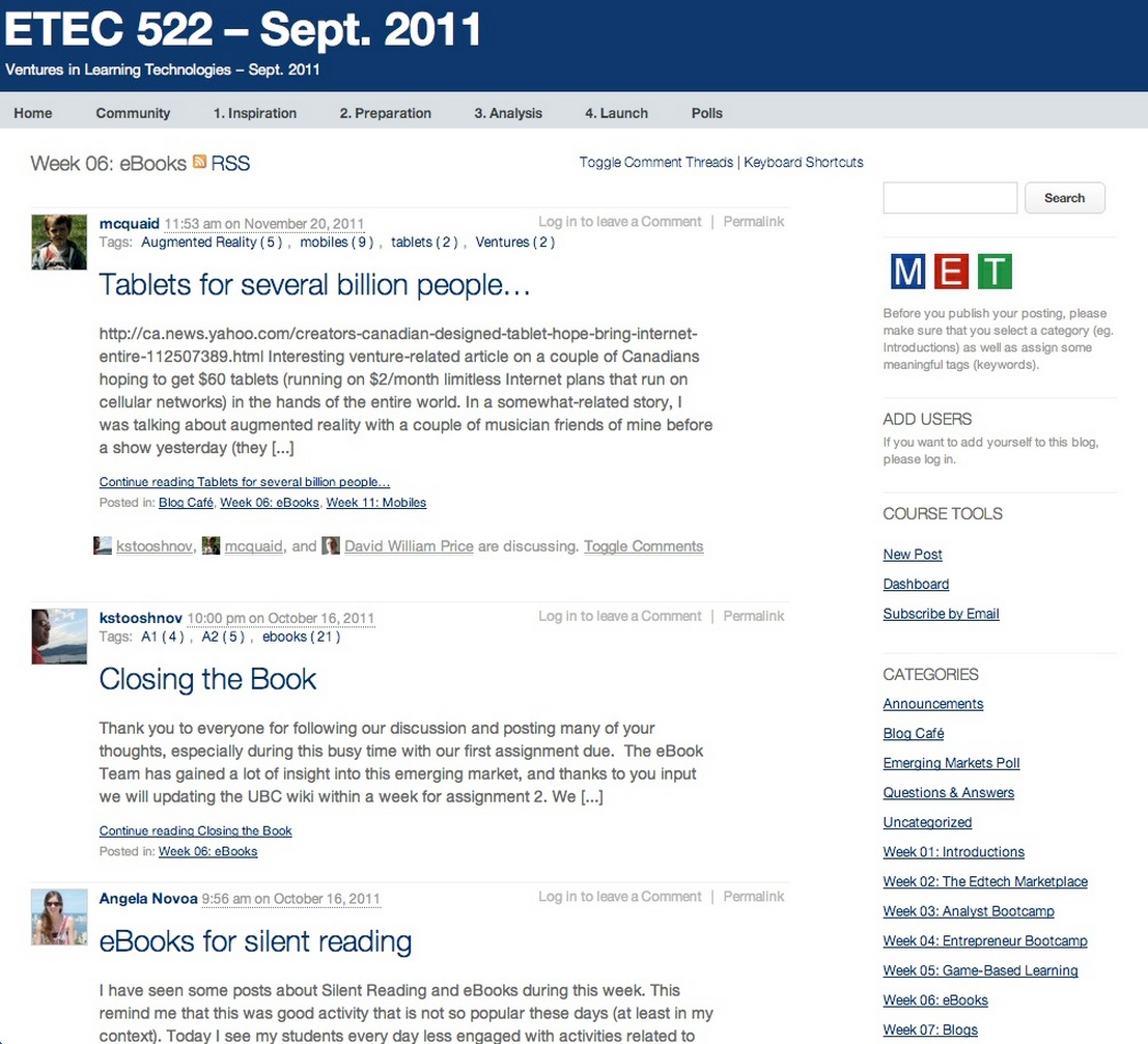 Figure 11.9.5 The University of British Columbia's ETEC 522