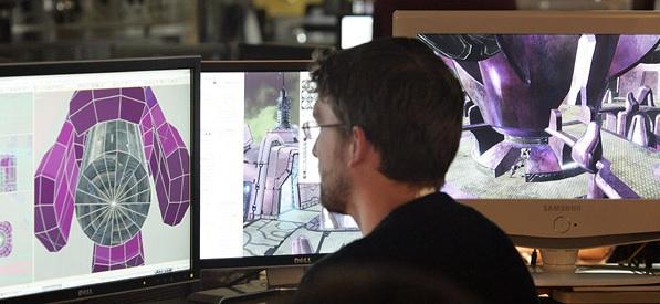 Figure 1.1.4 A video game designer