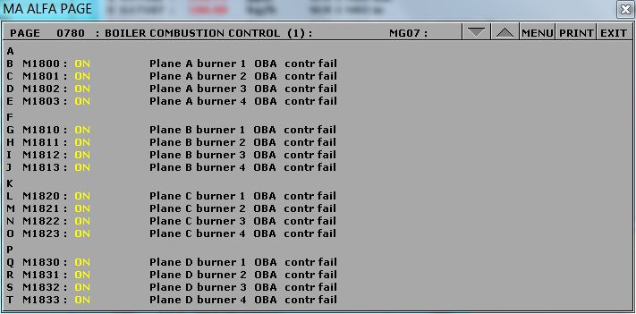 OBA controller failure.