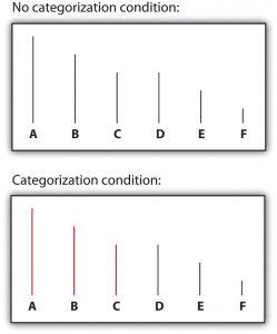 Figure 11.5 Perceptual Accentuation