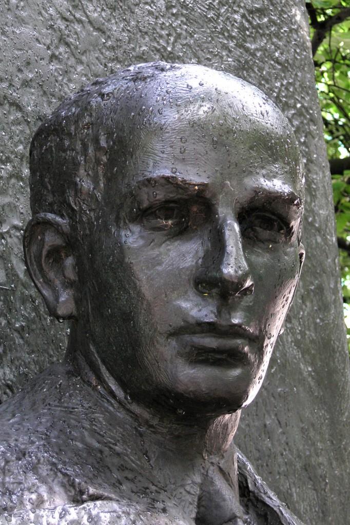 Sculpture of Raoul Wallenberg