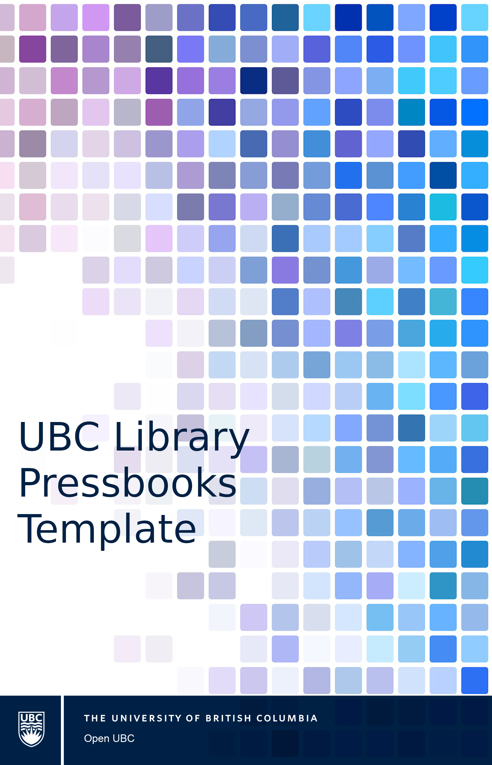 Cover image for UBC Library Pressbooks Template
