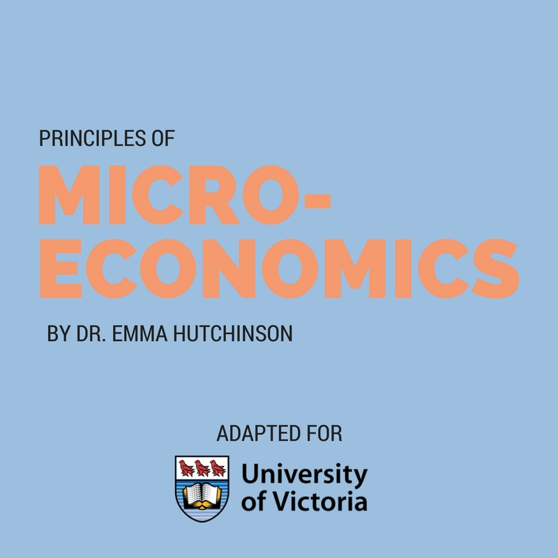 Cover image for Principles of Microeconomics